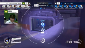 Double Composition Sniper Los Angeles Valiant contre Dallas Fuel sur Volskaya - Stratégie Overwatch