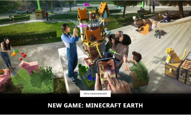 Minecraft Earth bientôt !