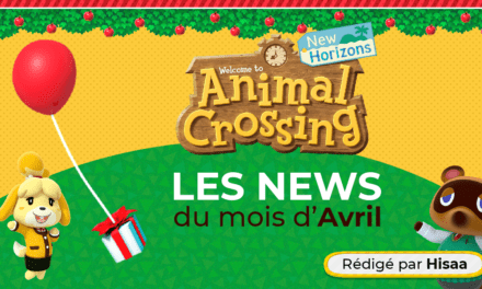 Avril 2020 sur Animal Crossing NH