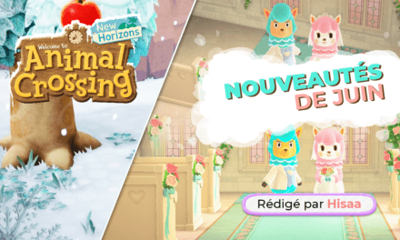 Juin 2020 sur Animal Crossing NH